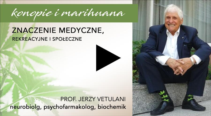 prof Jerzy Vetulani o konopiach